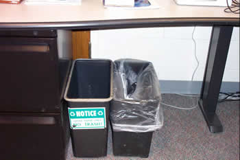 Recycle Desk Bins